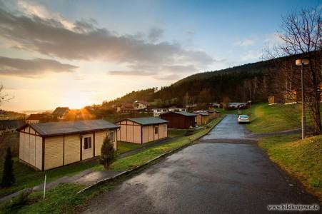 Sonnenuntergang in Kleingölitz