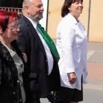 Bürgermeister und Landrätin