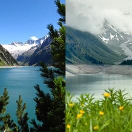 Kurzurlaub: damals und heute