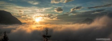 Sonnenaufgang im Inntal