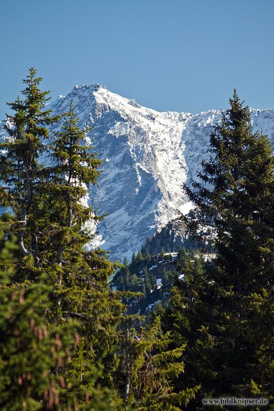 vom Tegelberg zur Zugspitze
