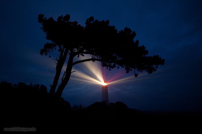 Hiddensee bei Nacht