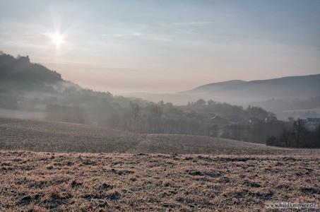 Sonnenaufgang über dem Greifenstein