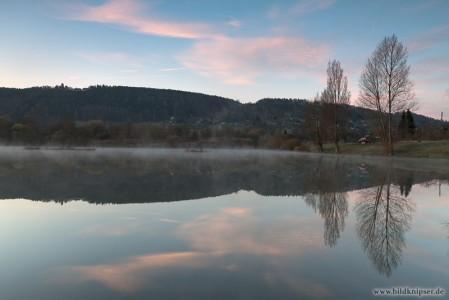 Marienturm Spiegelung im Wasser