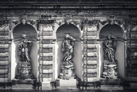 Statuen am Zwinger