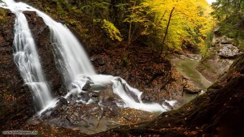 Panorama Moss Glen Wasserfall