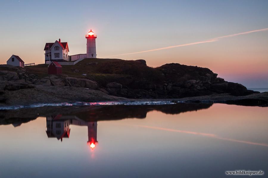 Morgendämmerung am Leuchtturm