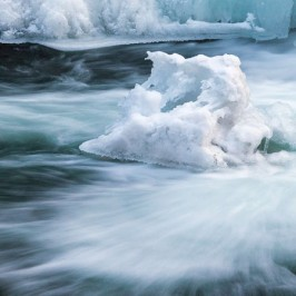 Bild der Woche: Eiszeit an der Schwarza