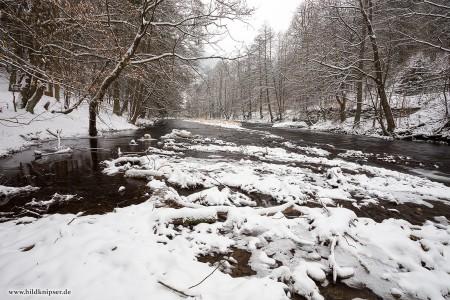 Schwarzatal im Winter