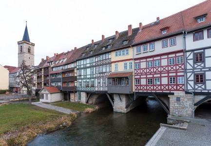 Blick auf die Krämerbrücke