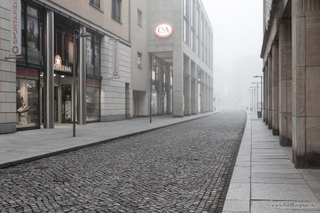 Morgennebel in Dresden