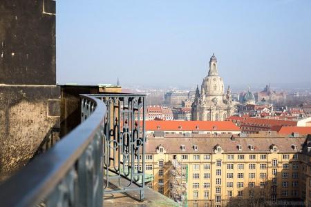Frauenkirche und Dresdener Altstadt