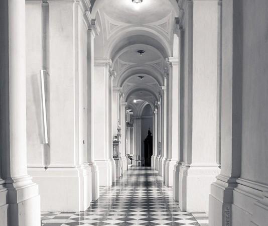Innenansicht Hofkirche Dresden
