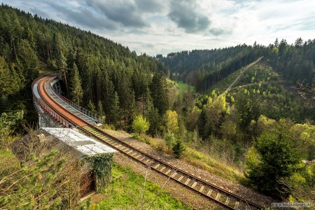 Eisenbahnbrücke in Thüringen