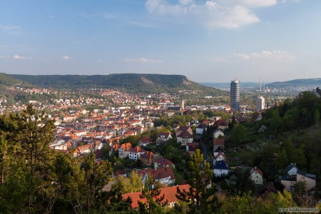 Blick auf den Frühling in Jena