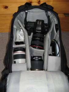 Kamerarucksack Hauptfach