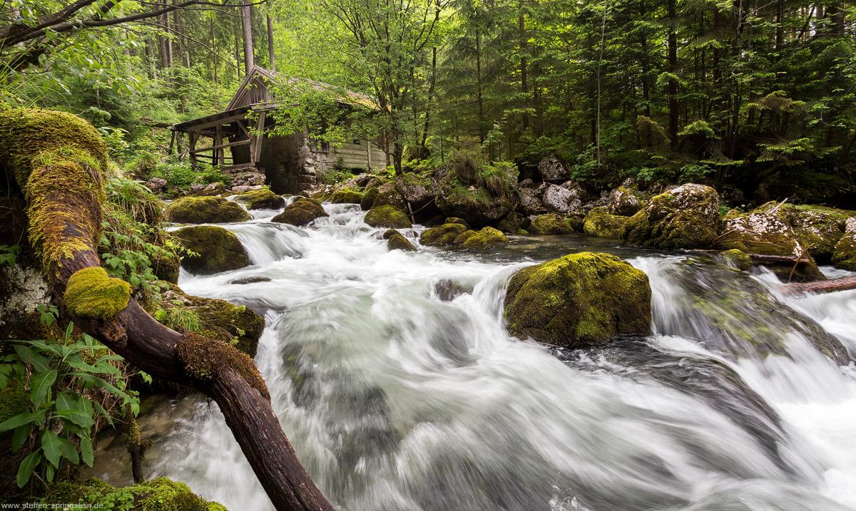 Gollinger Wassermühle ohne Wasserrad