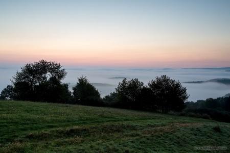 Sonnenaufgang über dem Nebelmeer?