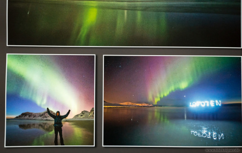 Körnung im Polarlichtbildern, Hohe Iso?