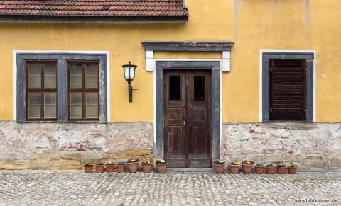 alte Hausfassade