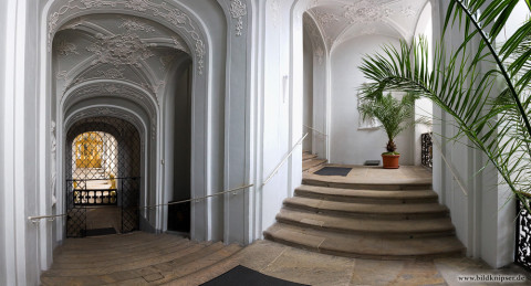 Panorama im Treppenhaus