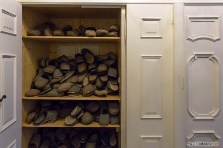 Schuhschrank für Besucher