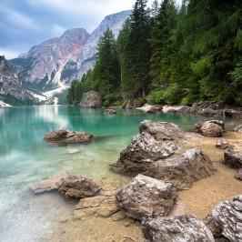 Getrieben von Gewittern in den Dolomiten