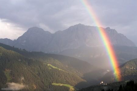 Regenbogen als Abschiedsgruß