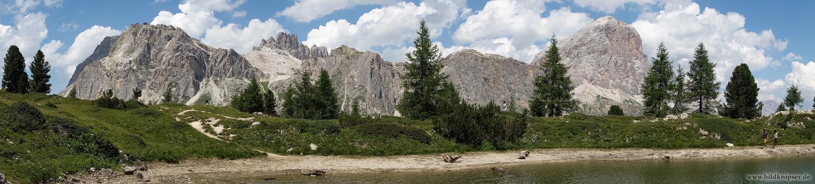 Bergpanorama am Lago di Limedes