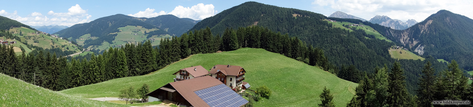 Panorama des Bauernhof