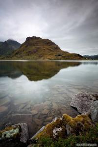 einer der tausend Seen im Nordland