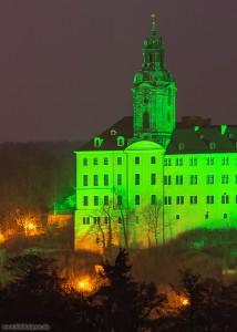 Detailansicht der Schlossfront