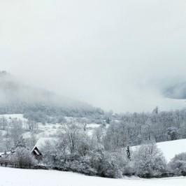 Kurzer Wintereinbruch zum ersten April