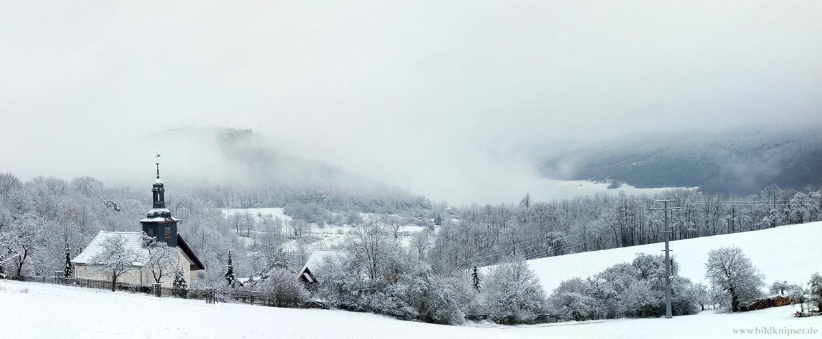 Winterpanorama Kleingölitz
