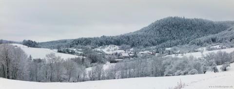 Winterpanorama Großgölitz