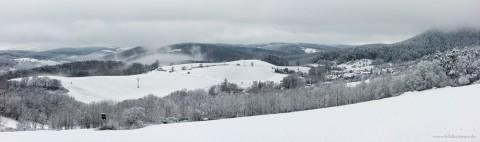 Winterpanorama Rinnetal