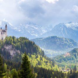 Fotostandpunkte rund um Neuschwanstein