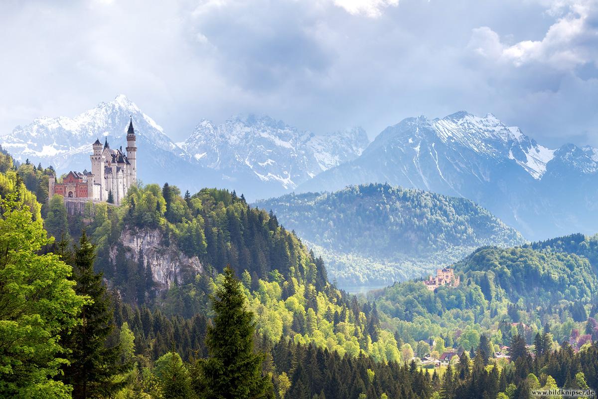 Königsschlösser Neuschwanstein und Hohenschwangau
