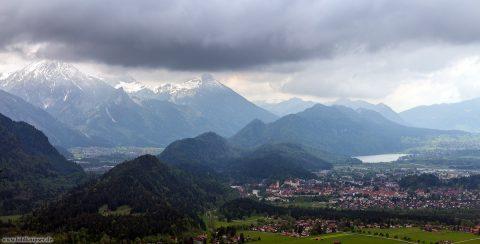 Allgäu Panorama über Füssen