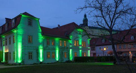 Schillerhaus in Rudolstadt zum St. Patrick's Day