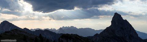 Berggipfel der Dolomiten