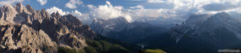 Bergfotografie Dolomiten Panorama